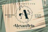 Last preview image of Alexandria Monogram