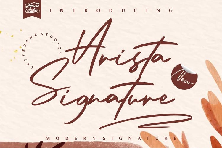 Preview image of Arista Signature