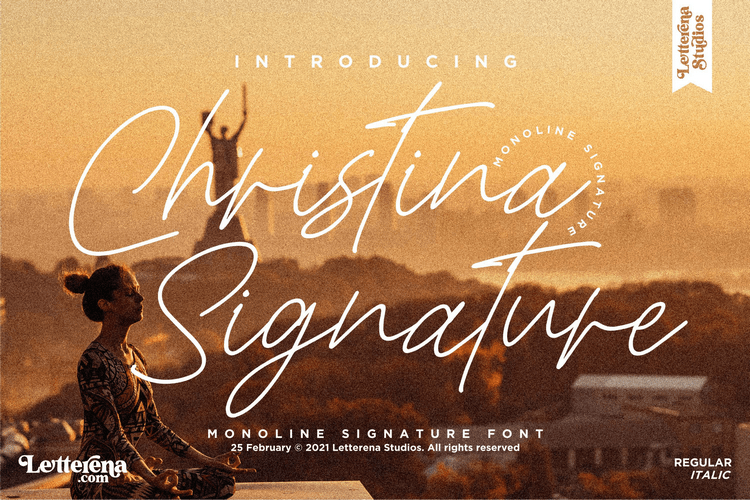 Preview image of Christina Signature