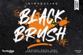 Last preview image of BLACK BRUSH