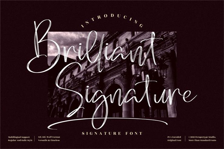 Preview image of Brilliant Signature