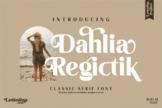 Last preview image of Dahlia Regictik