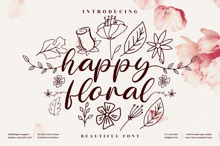 Preview image of Happy Floral
