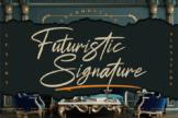 Last preview image of Futuristic Signature
