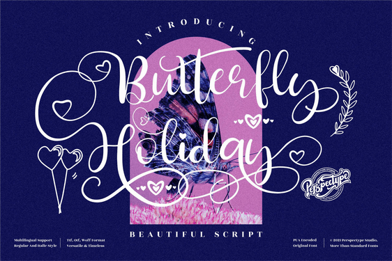 Preview image of Butterfly Holiday