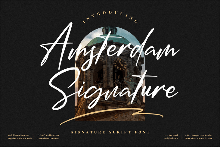 Preview image of Amsterdam Signature