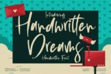Last preview image of Handwritten Dreams