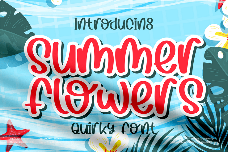 Preview image of Summer Flowers