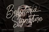 Last preview image of Belistaria Signature