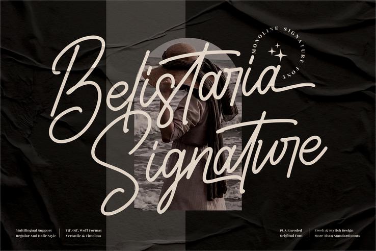Preview image of Belistaria Signature