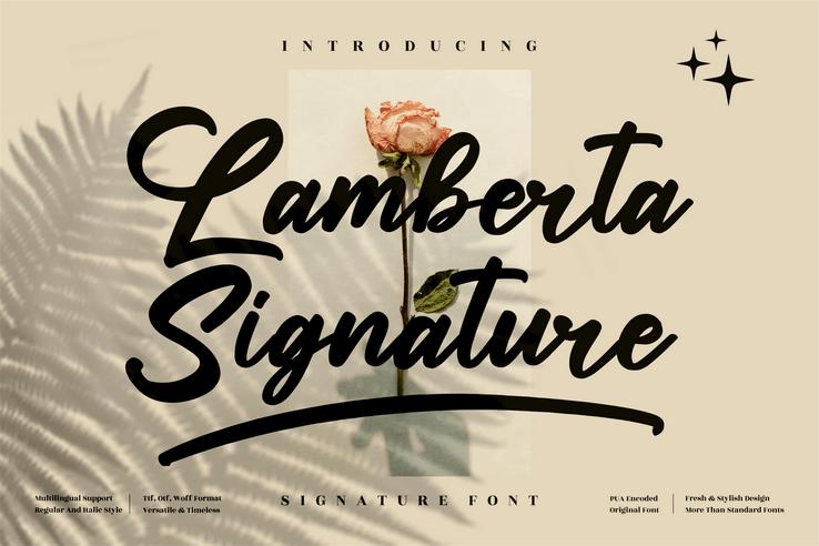 Preview image of Lamberta Signature