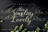 Last preview image of the Sunday Lovely