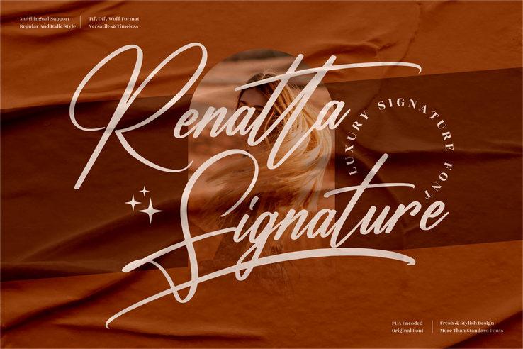 Preview image of Renatta Signature