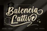 Last preview image of Balencia Lattive