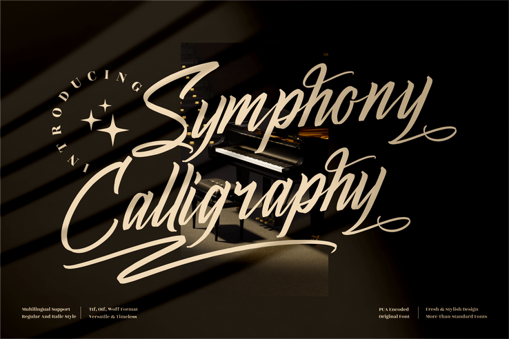 Preview image of Symphony Calligraphy