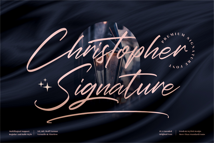 Preview image of Christopher Signature