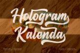 Last preview image of Hologram Kalenda