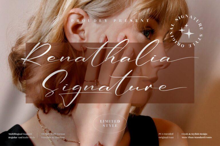 Preview image of Renathalia Signature
