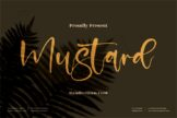 Last preview image of Mustard
