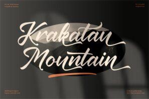 Krakatau Mountain