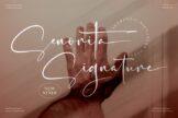 Last preview image of Senorita Signature