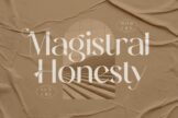 Last preview image of Magistral Honesty