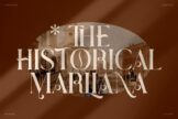 Last preview image of THE HISTORICAL MARLIANA