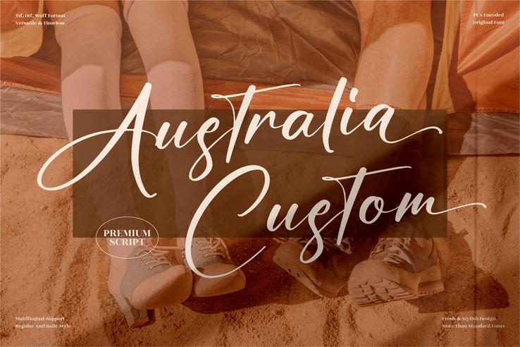 Preview image of Australia Custom