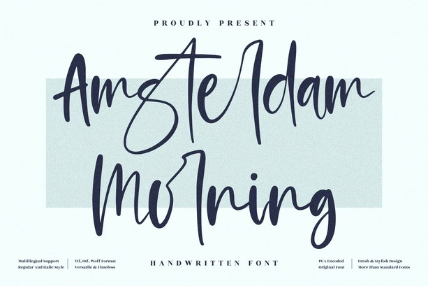 Preview image of Amsterdam Morning