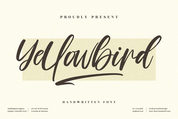Preview image of Yellowbird