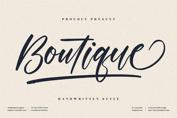 Preview image of Boutique