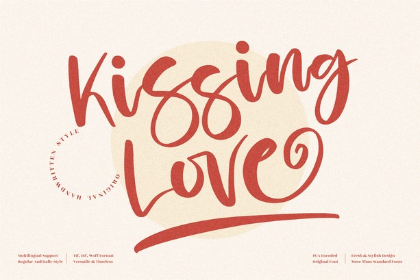 Preview image of Kissing Love