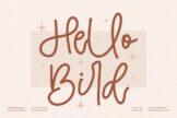 Last preview image of Hello Bird