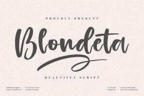 Blondeta