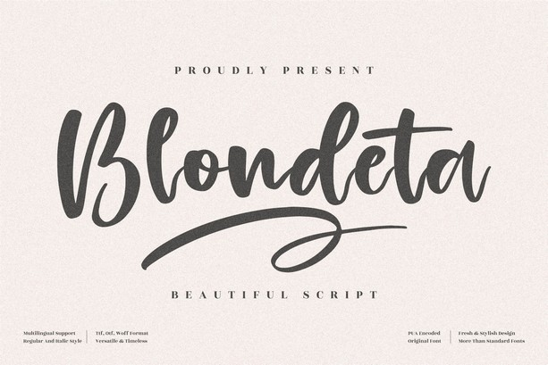 Preview image of Blondeta