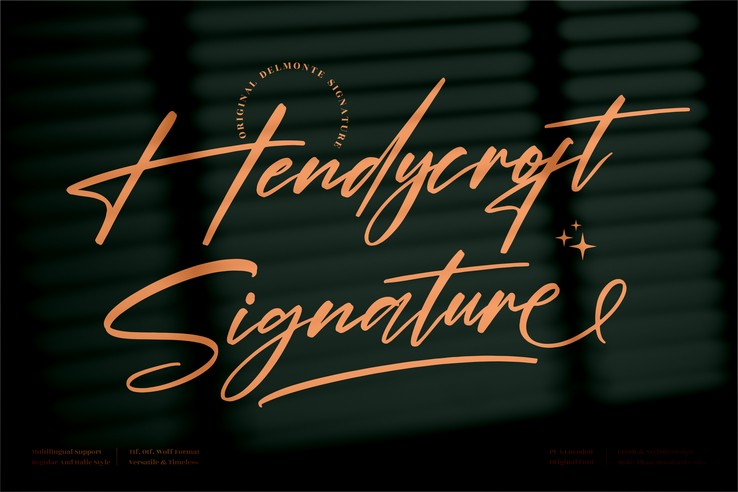 Preview image of Hendycroft Signature