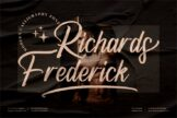 Last preview image of Richards Frederick