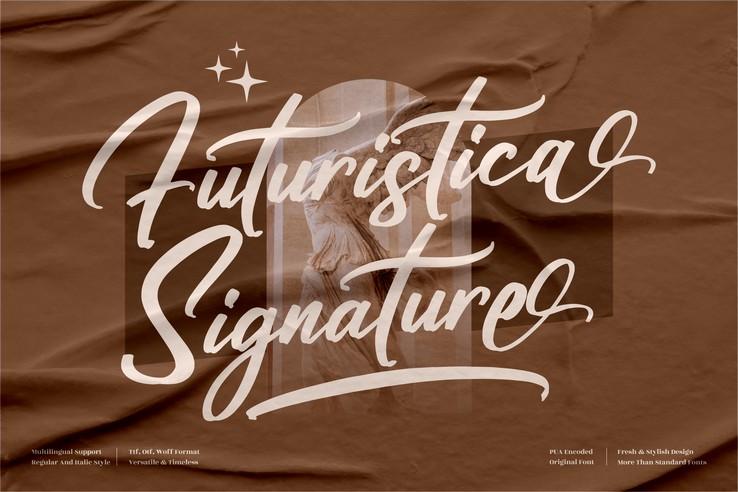 Preview image of Futuristica Signature