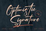 Last preview image of Optimistic Signature