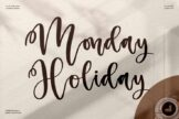 Last preview image of Monday Holiday