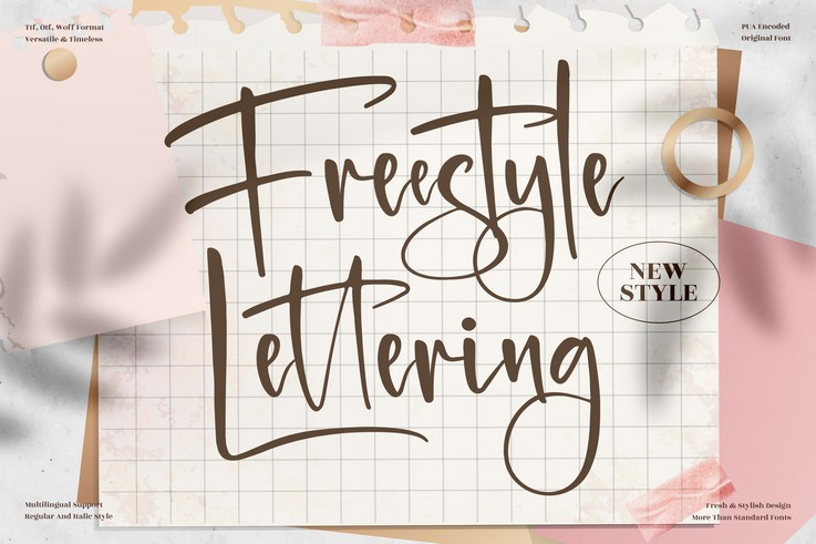 Preview image of Freestyle Lettering