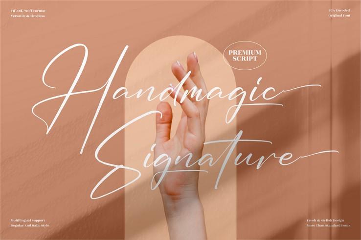 Preview image of Handmagic Signature