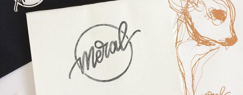 Meral Schriftzug - Lettering-by-mj