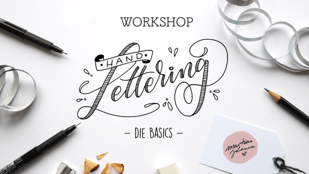 Hand Lettering Workshop, Lettering Workshop, Handlettering Workshop, in Bremen und Hamburg, Lettering Bremen, Lettering by Martina Johanna