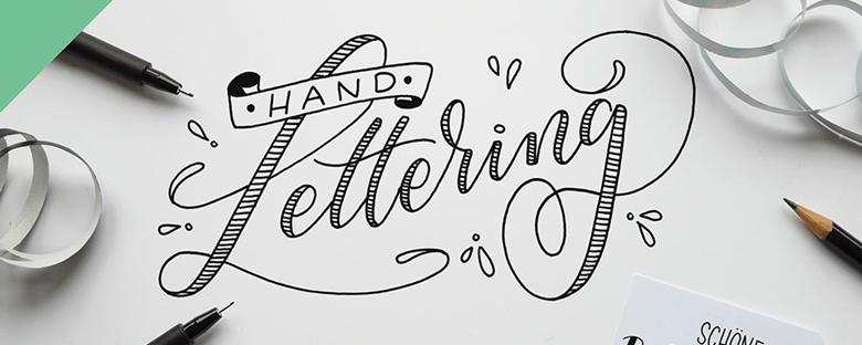 Dies ist das moodboard für handlettering kit, lettering kit, Lettering by martina johanna, supercraft