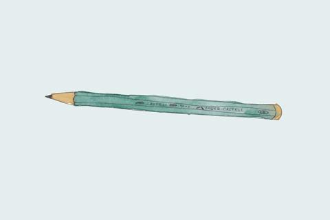 Faber Castell Bleistift 9000 - Lettering Material Empfehlungen. Liebslingswerkzeuge Lettering