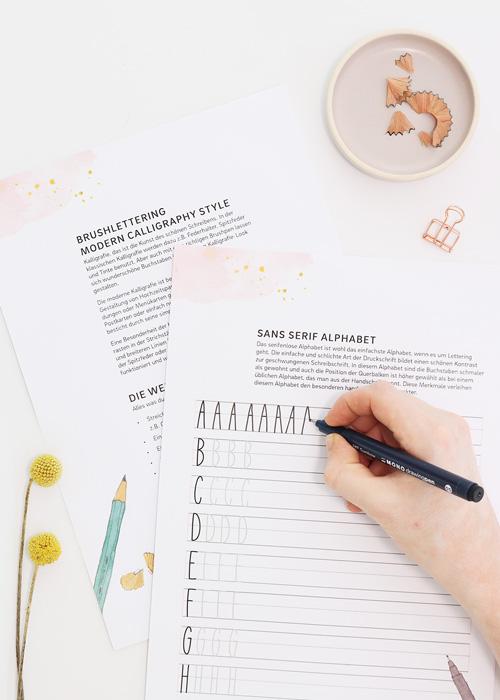 Lettering Lernen Tipps