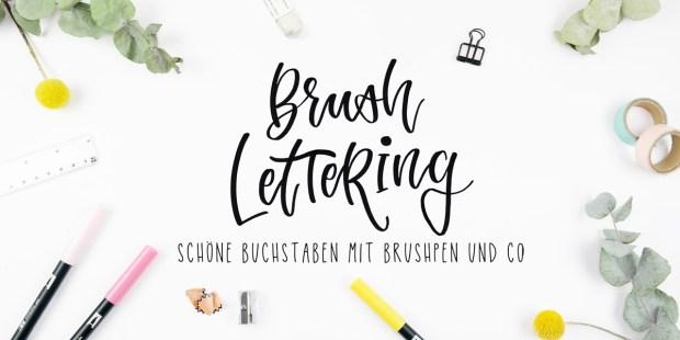 Brushlettering lernen. Workshop für Anfänger