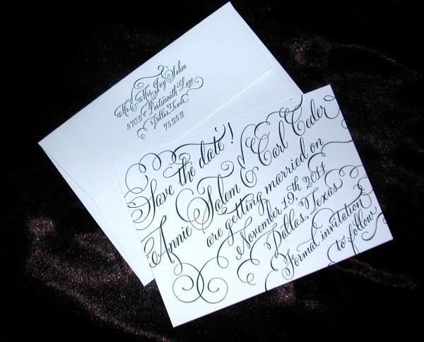Fancy Wedding Invitation Fonts