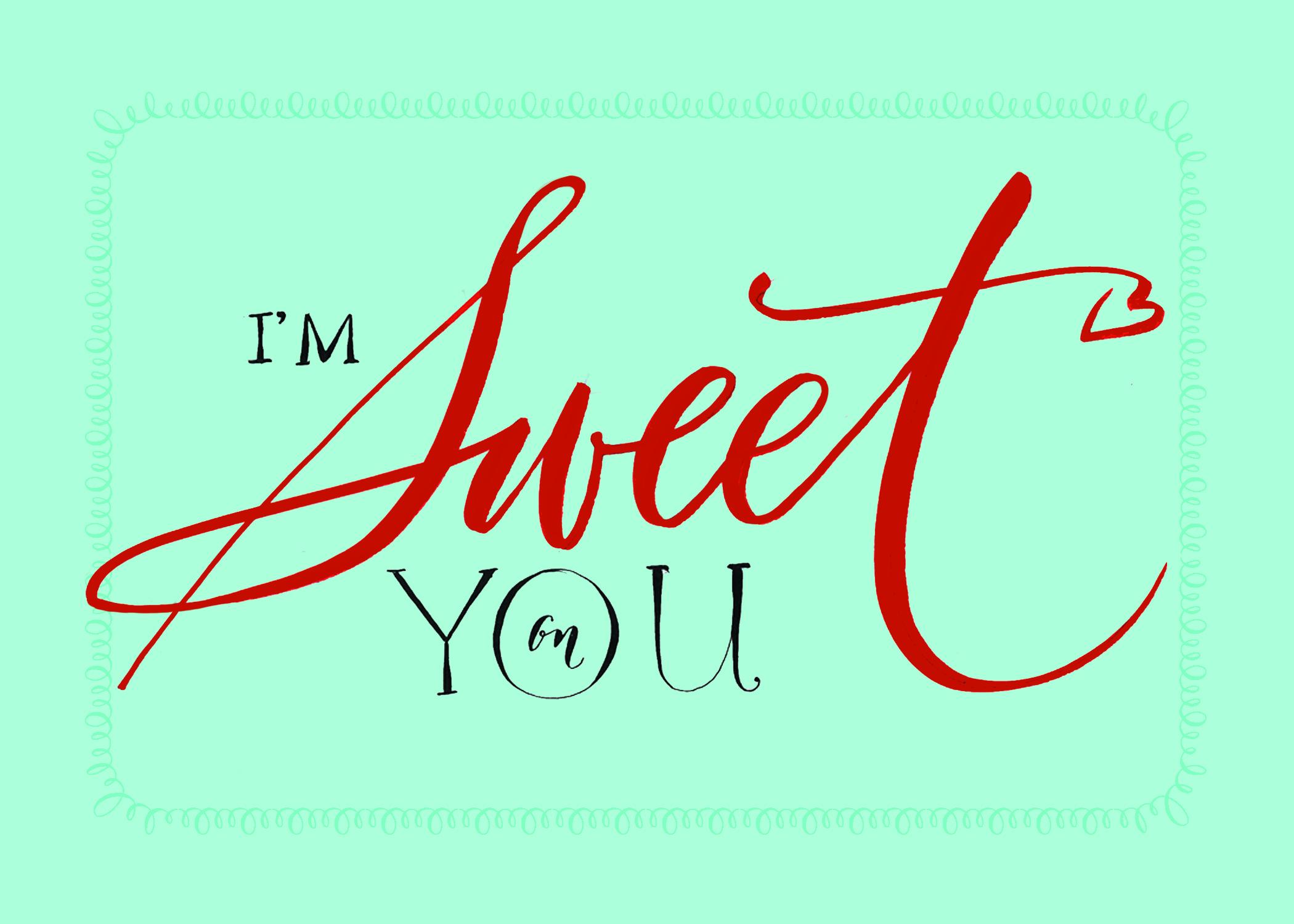 Free Calligraphy Valentines!  Lettering Art Studio